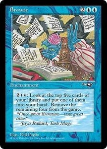 Magic the Gathering Alliances Single Card Uncommon Browse