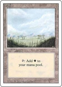 Magic the Gathering Revised Edition Single Card Land Plains [Random Artwork]