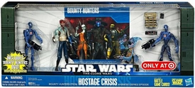 Star Wars 2010 Exclusive Action Figure 4-Pack Battle Pack Hostage Crisis [2x Commando Droids, Shahan Alama & Robonino]