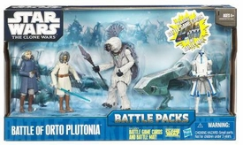 Star Wars 2010 Clone Wars Animated Battle Pack Battle of Orto Plutonia