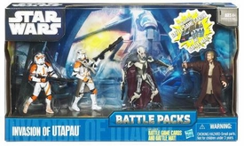 Star Wars 2010 Clone Wars Animated Battle Pack Invasion of Utapau