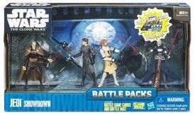 Star Wars 2010 Clone Wars Animated Battle Pack Jedi Showdown