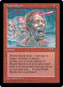 Magic the Gathering Alliances Single Card Uncommon Death Spark
