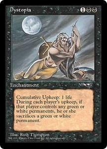 Magic the Gathering Alliances Single Card Rare Dystopia