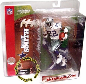 McFarlane Toys NFL Sports Picks Series 6 Action Figure Emmitt Smith (Arizona Cardinals) Cowboys with Cardinals Red 22 Gloves Retro Variant