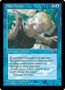Magic the Gathering Alliances Single Card Common False Demise [Random Artwork]