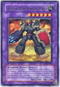 YuGiOh Elemental Energy Ultra Rare Single Card EEN-EN033 Elemental Hero Rampart Blaster
