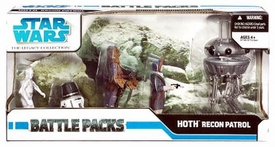 Star Wars Saga 2008 Legacy Collection Exclusive Action Figure Battle Pack Recon Patrol on Hoth