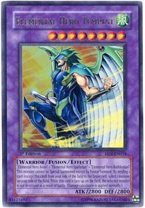 YuGiOh Elemental Energy Ultra Rare Single Card EEN-EN034 Elemental Hero Tempest
