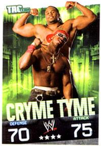 WWE Topps Wrestling Trading Cards Slam Attax Evolution Single Tag Team Base Card Cryme Tyme