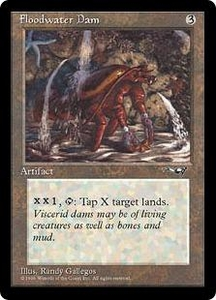 Magic the Gathering Alliances Single Card Rare Floodwater Dam