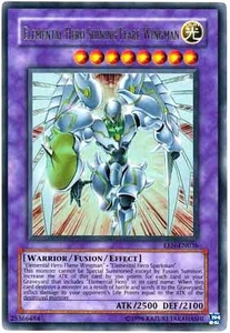 YuGiOh Elemental Energy Ultra Rare Single Card EEN-EN036 Elemental Hero Shining Flare Wingman