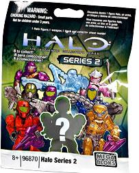 Halo Mega Bloks Series 2 Minifigure Mystery Pack [1 RANDOM Mini Figure]