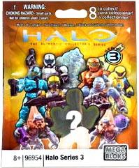 Halo Mega Bloks Series 3 Minifigure Mystery Pack [1 RANDOM Mini Figure]