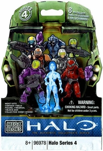 Halo Mega Bloks Series 4 Minifigure Mystery Pack [1 RANDOM Mini Figure]