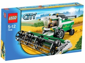 LEGO City Exclusive Set #7636 Combine Harvester