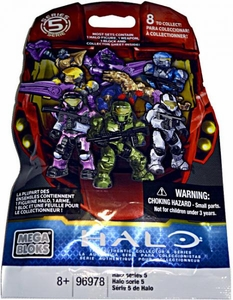 Halo Mega Bloks Series 5 Minifigure Mystery Pack [1 RANDOM Mini Figure] New Hot!