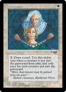 Magic the Gathering Alliances Single Card Uncommon Inheritance