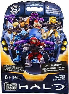 Halo Mega Bloks Series 6 Minifigure Mystery Pack [1 RANDOM Mini Figure]