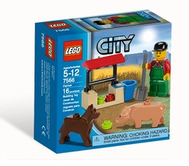 LEGO City Set #7566 Farmer