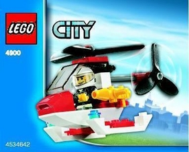 LEGO City Set #4900 Fire Helicopter [Bagged]