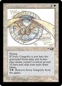 Magic the Gathering Alliances Single Card Rare Ivory Gargoyle