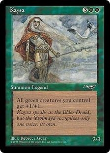 Magic the Gathering Alliances Single Card Rare Kaysa Heavily Played Condition
