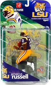 McFarlane Toys NCAA COLLEGE Football Sports Picks Series 1 Action Figure JaMarcus Russell (Louisiana State Tigers) Purple Jersey Variant