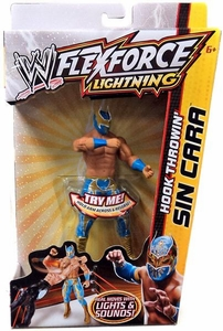 Mattel WWE Wrestling FlexForce Hook Throwin Sin Cara