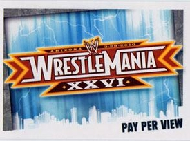 WWE Topps Wrestling Trading Cards Slam Attax Evolution Single Pay Per View Base Card WrestleMania