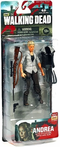 McFarlane Toys Walking Dead TV Series 4 Action Figure Andrea [Pitchfork, Rifle & Gun]