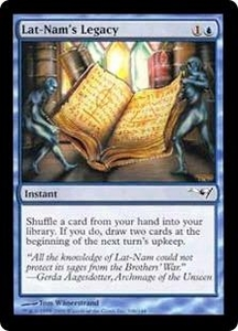Magic the Gathering Alliances Single Card Common Lat-Nam's Legacy [Random Artwork]