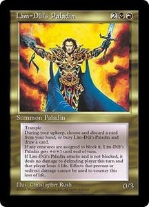 Magic the Gathering Alliances Single Card Uncommon Lim-Dul's Paladin