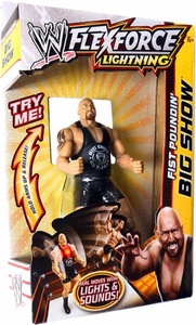 Mattel WWE Wrestling FlexForce Lightning Fist Poundin' Big Show BLOWOUT SALE!