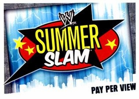 WWE Topps Wrestling Trading Cards Slam Attax Evolution Single Pay Per View Base Card Summerslam