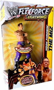 Mattel WWE Wrestling FlexForce Lightning Hook Throwin' The Miz BLOWOUT SALE!