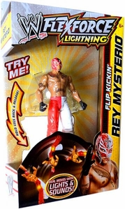Mattel WWE Wrestling FlexForce Lightning Flip Kickin' Rey Mysterio BLOWOUT SALE!