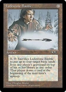 Magic the Gathering Alliances Single Card Rare Lodestone Bauble