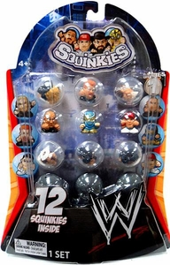WWE Wrestling Series 1 Squinkies 12-Pack
