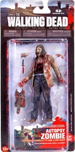 McFarlane Toys Walking Dead TV Series 3 Action Figure Autopsy Zombie [Expose Stomach to See Contents]