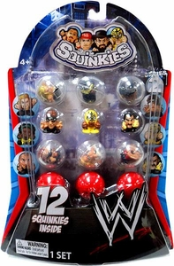 WWE Wrestling Series 2 Squinkies 12-Pack