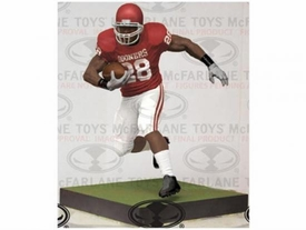 McFarlane Toys NFL Sports Picks Deluxe 12 Inch Action Figure Adrian Peterson (Oklahoma Sooners) Cancelled