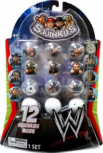 WWE Wrestling Series 3 Squinkies 12-Pack