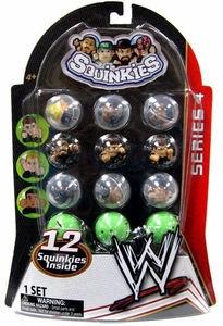 WWE Wrestling Series 4 Squinkies 12-Pack