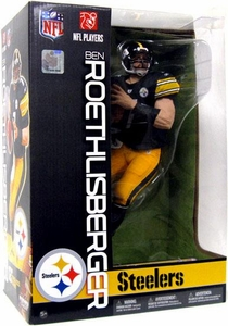 McFarlane Toys NFL Sports Picks 12 Inch Deluxe Action Figure Ben Roethlisberger (Pittsburgh Steelers)