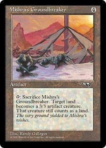 Magic the Gathering Alliances Single Card Uncommon Mishra's Groundbreaker