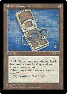 Magic the Gathering Alliances Single Card Uncommon Mystic Compass