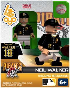 OYO Baseball MLB Generation 2 Building Brick Minifigure Neil Walker [Pittsburgh Pirates]