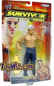 WWE Jakks Pacific Wrestling Survivor Series 2003 Action Figure John Cena