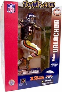 McFarlane Toys NFL Sports Picks 12 Inch Deluxe Action Figure Brian Urlacher (Chicago Bears) Blue Jersey